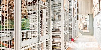 Передвижные стеллажи для архивов и музеев